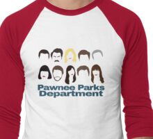 Parks Crew Men's Baseball ¾ T-Shirt