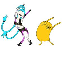 League of adventure : Jake and Jinx by sephtis