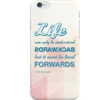 Live Forwards iPhone Case/Skin