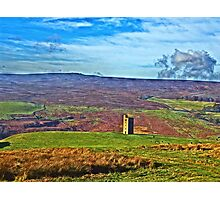 Strines Hunting tower  Photographic Print