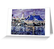 Pavillion Newport Beach 1988 Greeting Card