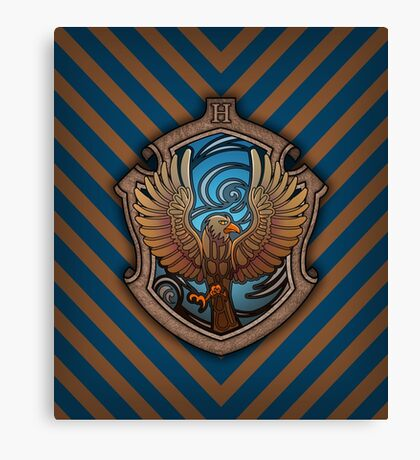 The Witty Eagle Canvas Print