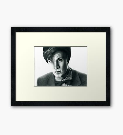 The Eleventh Doctor Framed Print