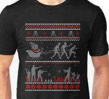 TWD Ugly Christmas Sweater T-Shirt Unisex T-Shirt
