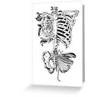 Body Bones Greeting Card