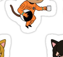 Catstronauts Sticker