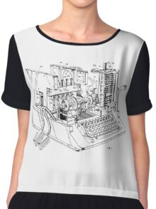 Patent - SIGABA Cryptography Machine Chiffon Top