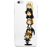 K-on Totem Pole iPhone Case/Skin