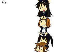 K-on Totem Pole by fayezfaye