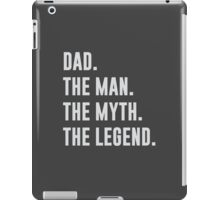 Dad Is A Legend iPad Case/Skin
