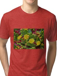 Prickly Pear Cactus Tri-blend T-Shirt
