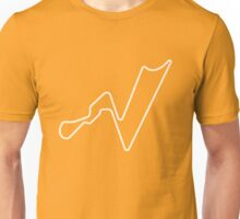 Buddh International Circuit [outline] Unisex T-Shirt