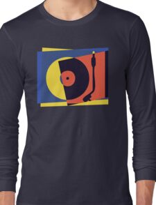 Pop Art Turntable 2 Long Sleeve T-Shirt