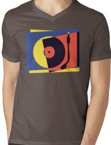Pop Art Turntable 2 Mens V-Neck T-Shirt