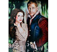 Snow White and Charming Photographic Print