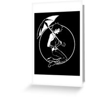 Death of the Endless print Greeting Card