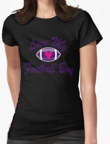funny cool love my football boy T-Shirt