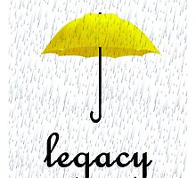 The Legacy Of The Yellow Umbrella  by KnightVII
