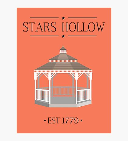 Gilmore Girls - Stars Hollow! Photographic Print