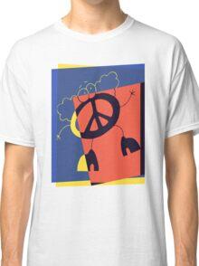 Pop Art Peace Person Classic T-Shirt