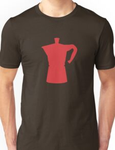 Red Moka T-shirt. Limited edition design! Unisex T-Shirt