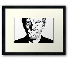 Dr. House Has a Wonderful Bedside Manner Framed Print