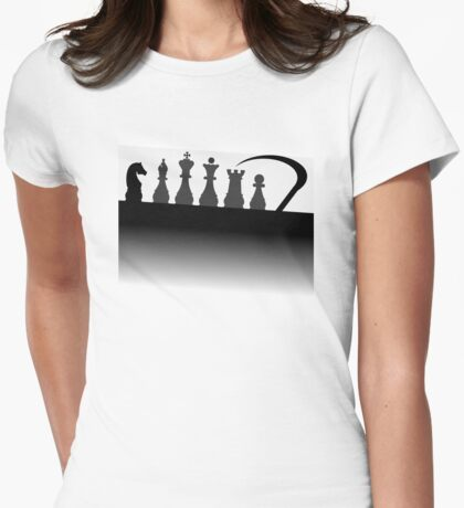 The Seventh Seal alternative movie poster Womens Fitted T-Shirt