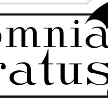 "Gilmore Girls - ""In Omnia Paratus"" Sticker"