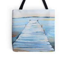 water and dock painting Tote Bag