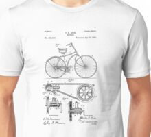 Patent - Bicycle Unisex T-Shirt