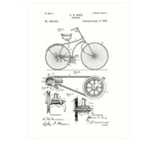 Patent - Bicycle Art Print