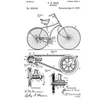 Patent - Bicycle Photographic Print