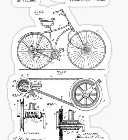 Patent - Bicycle Sticker
