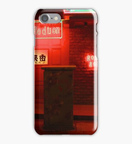 CHINA OF THE LIGHT : The red lion iPhone Case/Skin