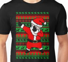 Dabbing Santa  Ugly Christmas Sweater  Unisex T-Shirt