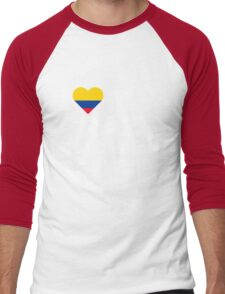 I Love My Crazy Colombian Wife Colombia Native T-Shirt Men's Baseball ¾ T-Shirt