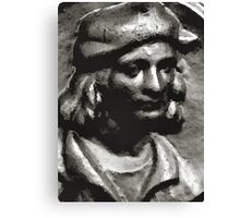 Man with hat Canvas Print