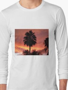 Amazing Orange Sunset!  Long Sleeve T-Shirt