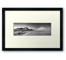 Buachaille Etive Mor Panorama Framed Print