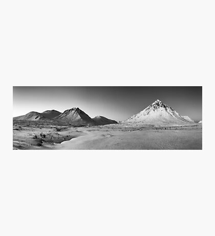 Buachaille Etive Mor Panorama Photographic Print