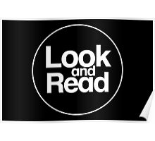 Look and Read (just the logo) Poster