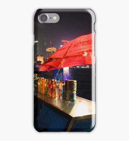 CHINA OF THE LIGHT : The red parasol iPhone Case/Skin