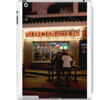 CHINA OF THE LIGHT : Pulp fiction aussie bar iPad Case/Skin