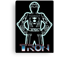 Tron Software Canvas Print