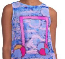 Colourful Music by Nikki Ellina Contrast Tank