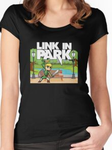 Link In Park Women's Fitted Scoop T-Shirt