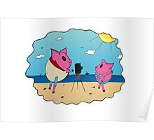PiGgy on Vacation! Poster