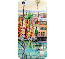 Newport Harbor CA. iPhone Case/Skin