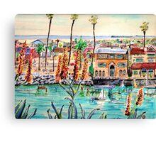 Newport Harbor CA. Canvas Print