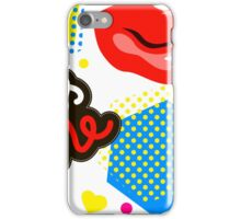 Lips, Kiss iPhone Case/Skin